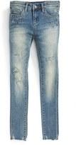 Blank NYC Girl's Blanknyc Distressed Skinny Jeans