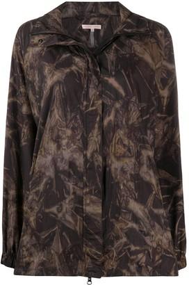 Filippa K Soft Sport Raven tie-dye track jacket