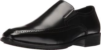 Stacy Adams Men's Acton Slip Resistant Moc Toe Slip-on Loafer