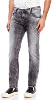 Antony Morato Black Acid Wash Barret Skinny Jeans