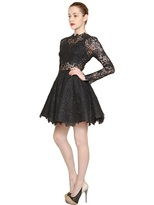 Maria Lucia Hohan Long Sleeved Cotton Lace Dress