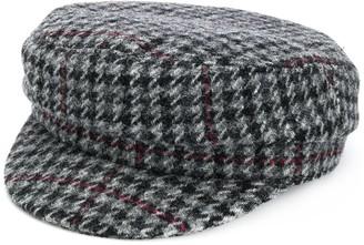 Isabel Marant Evie houndstooth patterned cap