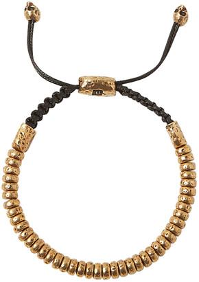 John Varvatos 6mm Distressed Rondelle Bracelet