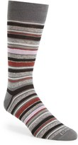 Lorenzo Uomo Men's 'Genova Stripe' Socks