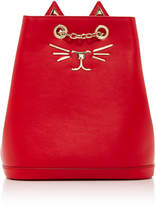Charlotte Olympia Mini Feline Leather Backpack