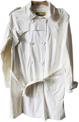 Aigle White Coat for Women