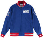 Mitchell & Ness Men's New York Giants Team History Warm Up Jacket