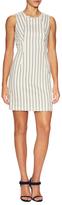 O'2nd Tony Patched Stripe Mini Dress