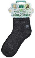 Earth Therapeutics Moisturizing Aloe Socks, Black
