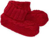 Ralph Lauren Cable-Knit Booties