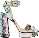 Jimmy Choo Jax Tie-Dye Platform Sandals