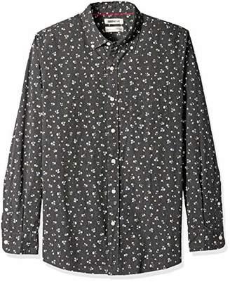 Goodthreads Men's Standard-fit Long-sleeve Printed Poplin Shirt Shirt,XX-Large