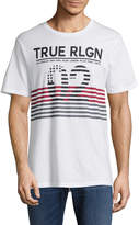 True Religion Men's Inside Flag Cotton Tee