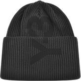 Y-3 Y3 Logo Beanie Hat Grey