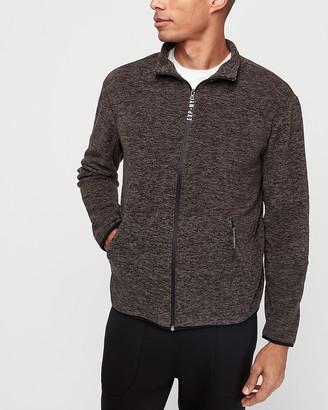 Express Fleece Funnel Neck Zip-Up Sweatshirt