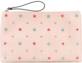 RED Valentino star embellished clutch - women - Calf Leather - One Size