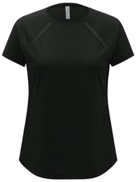 Ideology Textured Mesh-Trimmed Top, Created for Macy's