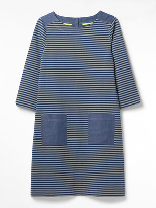 White Stuff Albie Stripe Jersey Dress