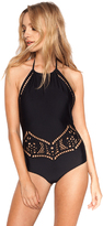 Beach Riot Arcadia One Piece in Black