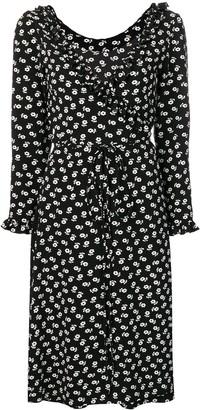 ALEXACHUNG Alexa Chung floral print wrap dress