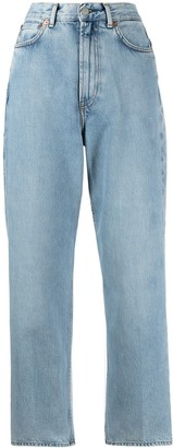 Acne Studios 1993 Cropped Straight-Leg Jeans