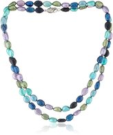 "Honora Peacock"" Freshwater Cultured Pearl Necklace, 36"""
