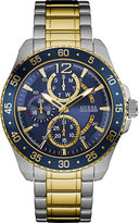 Guess W0797g1 Gents Jet Stainless Steel Watch