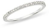 1/10 Carat Diamond 10K White Gold Ring