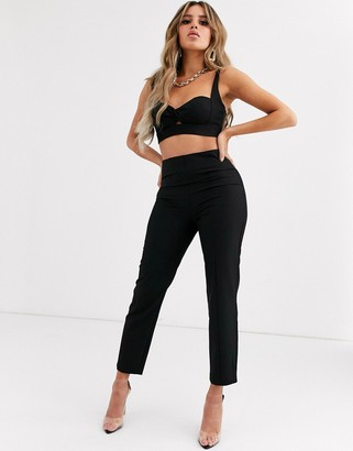 Significant Other sojourn cropped high waist trousers