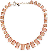 Lauren Ralph Lauren Gold-Tone Faceted Stone All-Around Collar Necklace