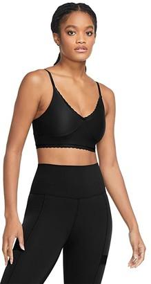 Nike Indy Luxe Lace Bra (Black/Dark Smoke Grey) Women's Bra