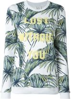 Zoe Karssen 'Lost Without You' sweatshirt