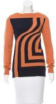 Dries Van Noten Intarsia Wool Sweater w/ Tags