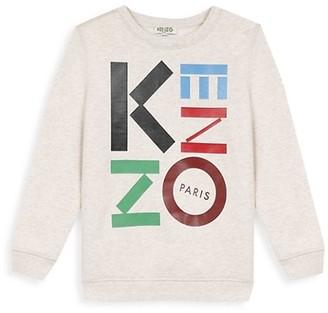 Kenzo Little Boy's & Boy's Logo Sweater