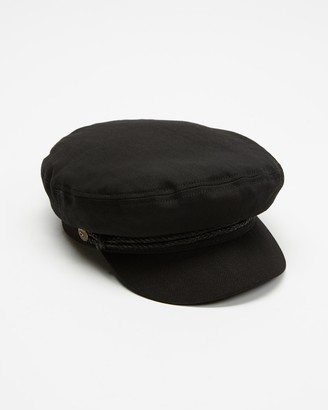 Brixton Black Caps - Fiddler Cap - Size XS at The Iconic