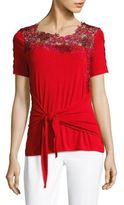 Elie Tahari Dolores Knit Top