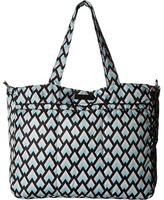 Ju-Ju-Be Onyx Collection Super Be Zippered Tote Diaper Bag Diaper Bags