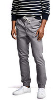 Lands' End Men's Charter Chino Pants-Gull Gray