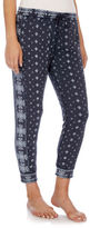 Lucky Brand Printed Cotton-Blend Pants