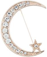 Accessorize Celestial Moon Brooch