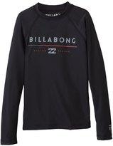 Billabong Boy's All Day Long Sleeve Rash Guard 8140960