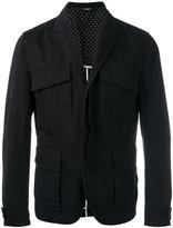 Dolce & Gabbana cargo jacket - men - Cotton/Linen/Flax/Polyamide/Viscose - 50