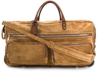 Brunello Cucinelli Wheeled Weekender Bag