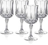 Longchamp Cristal D'Arques Set of 4 Wine Glasses