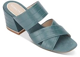 Kenneth Cole Women's Maisie Block Heel Sandals