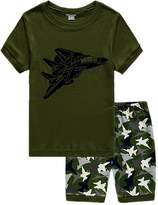 Cczmfes Boys Pjms Childrens Pjs Set 2 Piece 100% Cotton Size 2-7 Yers