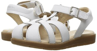 Stride Rite Summer Time (Toddler) (White) Girl's Shoes