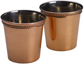 Mikasa Set of 2 Copper Shot Glasses