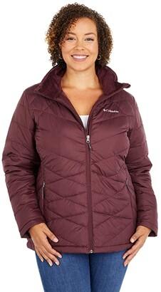 Columbia Plus Size Heavenlytm Jacket (Black) Women's Coat