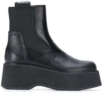 Ash Nikita platform ankle boots